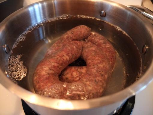 sausage-water
