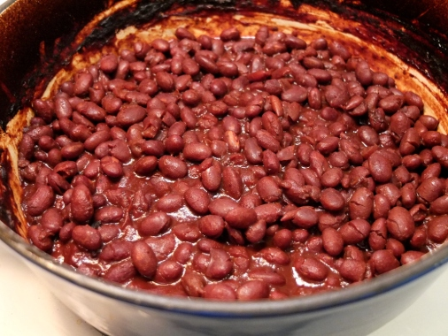Berry Beer Baked Beans | Style vs Space